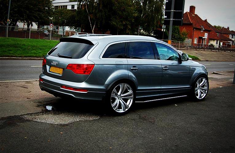 2010 Audi Q7 On Mania Savoy Wheels 2010 Audi Q7 On 22