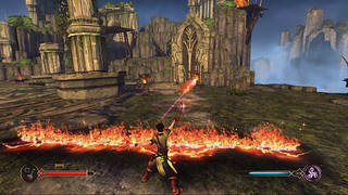 Sorcery for PS3: Bogies Fire Wall | by PlayStation.Blog