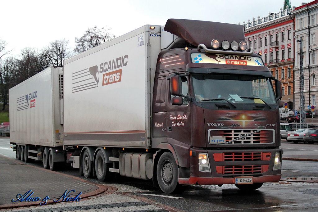 "Volvo FH12 500 ""Scandic Trans"" (FIN) | Alexey | Flickr"