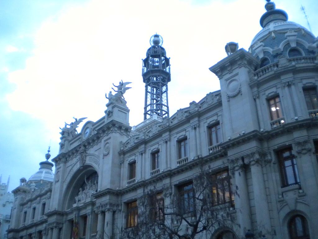 Oficina central de correos de valencia fotograf a de la for Horario oficina de correos valencia