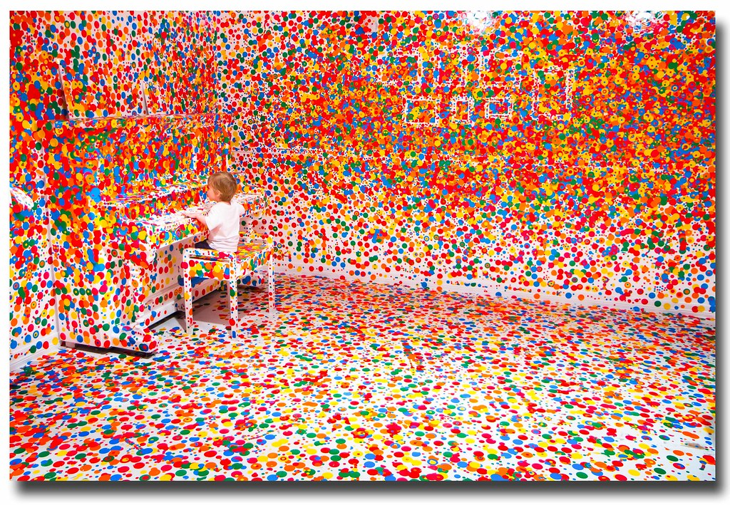 Yayoi Kusama\'s \'The obliteration room\' | Some cool stuff at … | Flickr