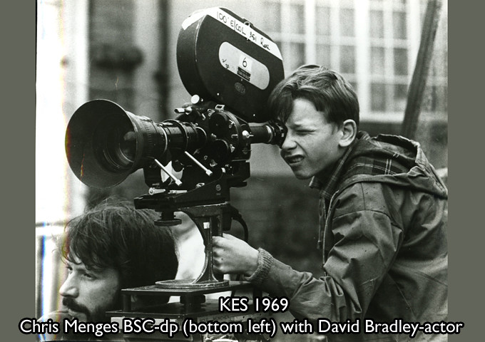 Menges, Chris BSC (bottom of frame) Actor Dai Bradley 1968 KES ...: https://www.flickr.com/photos/bscine/6598926519