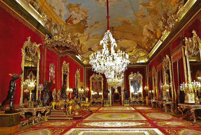 royal throne room at palacio real de madrid spain flickr photo sharing. Black Bedroom Furniture Sets. Home Design Ideas
