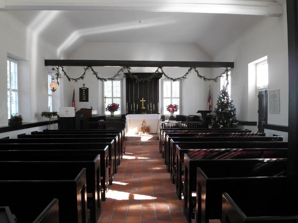 Inside St Thomas Episcopal Church Bath North Carolina