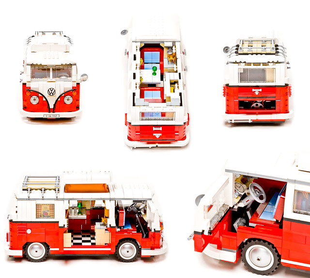 lego volkswagen t1 camper van flickr photo sharing. Black Bedroom Furniture Sets. Home Design Ideas
