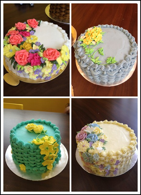 Wilton Method of Cake Decorating Course 2 basketweave ...