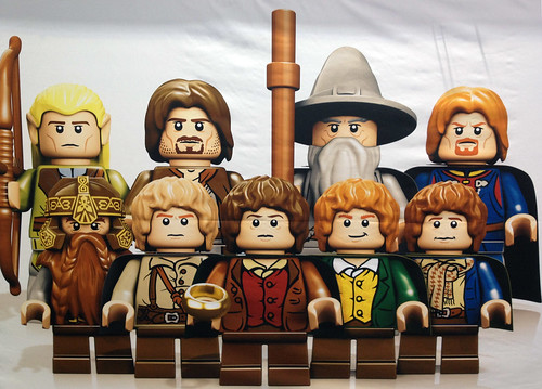 London ToyFair 2012: Lego Lord of the Rings: The Fellowship | by fbtb