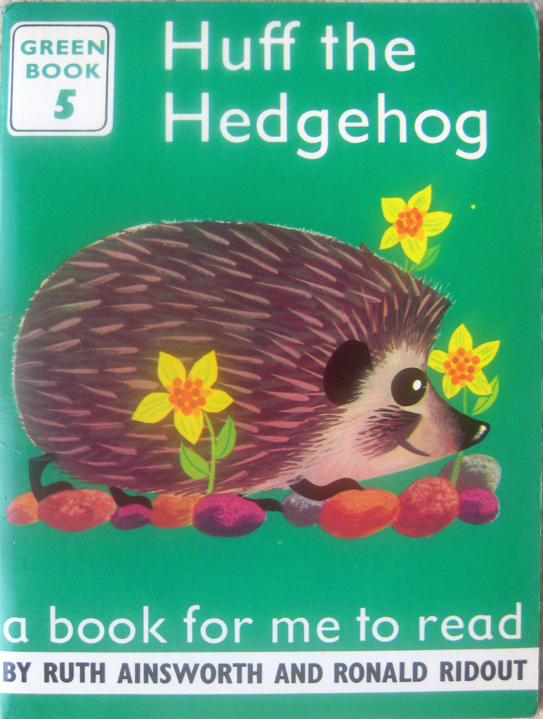 How To Make A Book Hedgehog : Huff the hedgehog ronald ridout scheme included four