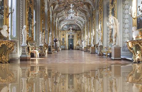 Palazzo Doria Pamphilj - Galleria degli specchi | Roma ...