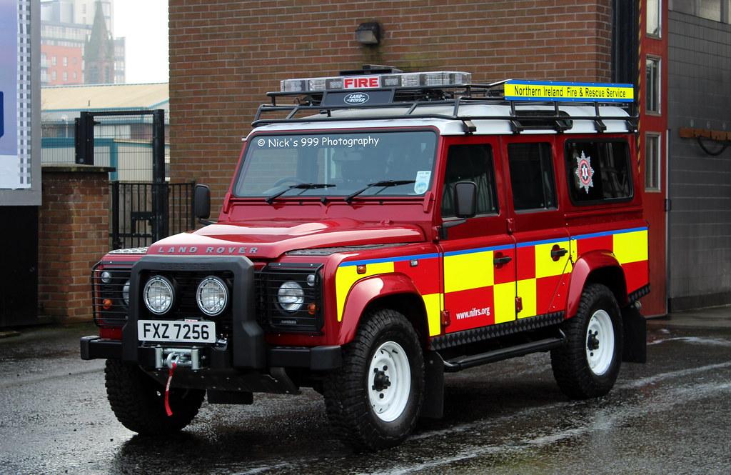 Northern Ireland Fire Rescue Service E2276 Fxz 7256