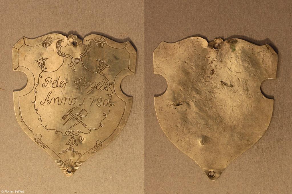 Koenigsschild Flittard von vogell peter aus dem Jahr 1780