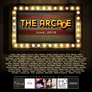 The Arcade - June 2016 Gacha Event Poster
