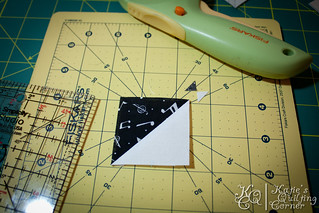 Half-Square Triangle Foundation Piecing Tutorial | by MagnoliaFly