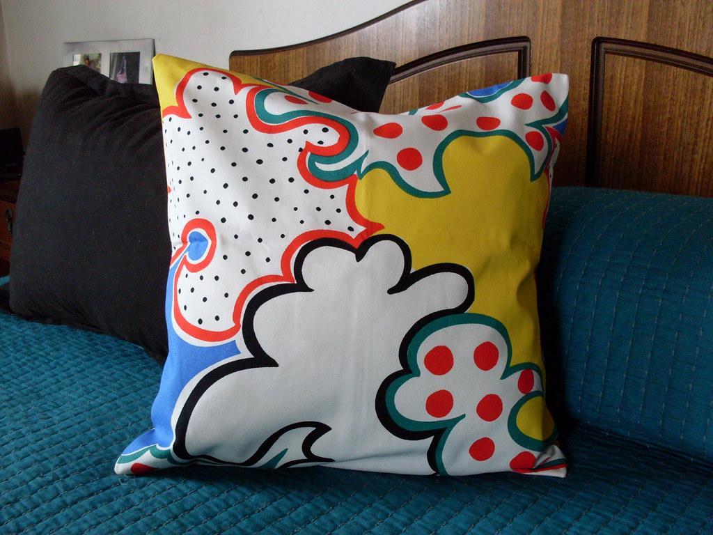 Fundas cojines en tela ikea para cojines de 40 x 40 cms juan pablo godoy gonz lez flickr - Fundas cojines ikea ...