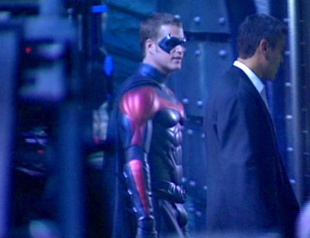 between scenes with batman and robin chris odonnell