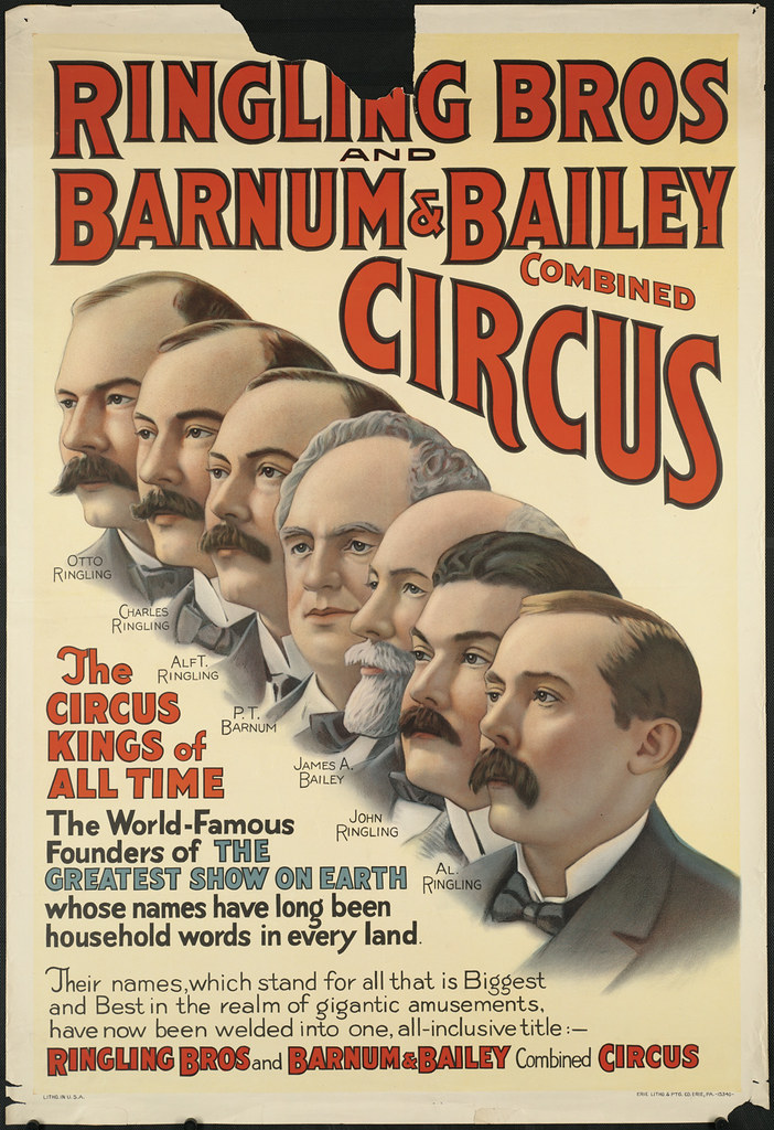 ringling bros and barnum  u0026 bailey combined circus   the ci