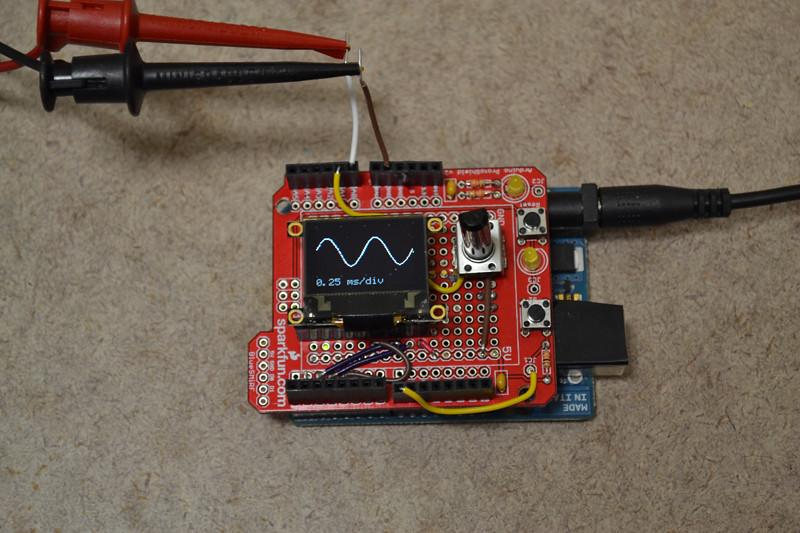 Arduino dso my digital storage oscilloscope