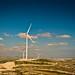 Wind Towers in Alethrico village, near Larnaca