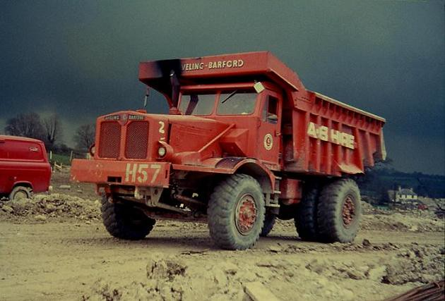 New Dump Trucks >> Aveling-Barford SN-35 | Aveling-Barford SN-35 dump truck of … | Flickr