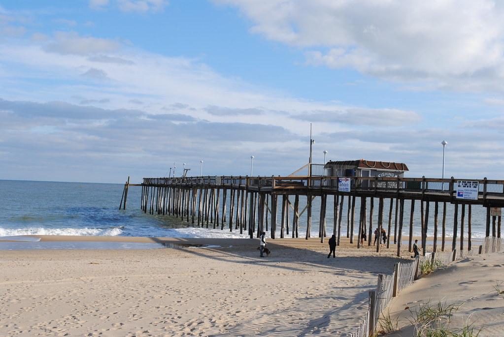 Ocean city md boardwalk 12 2011 ocean city fishing pier for Ocean city maryland fishing