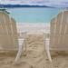 White Beach Chairs In Virgin Islands