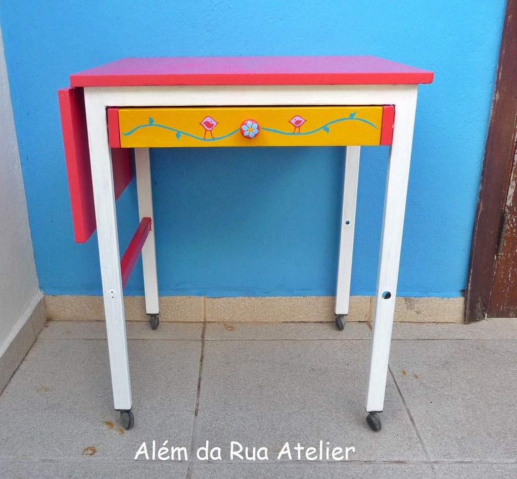 Restauração e reciclagem de uma mesa antiga com passo a p  #C58906 1024x947