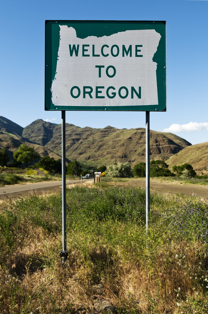 Welcome To Oregon Curtis Perry Flickr