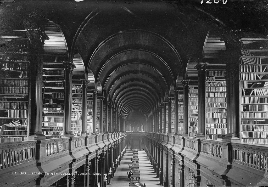 The Long Room | by National Library of Ireland on The Commons