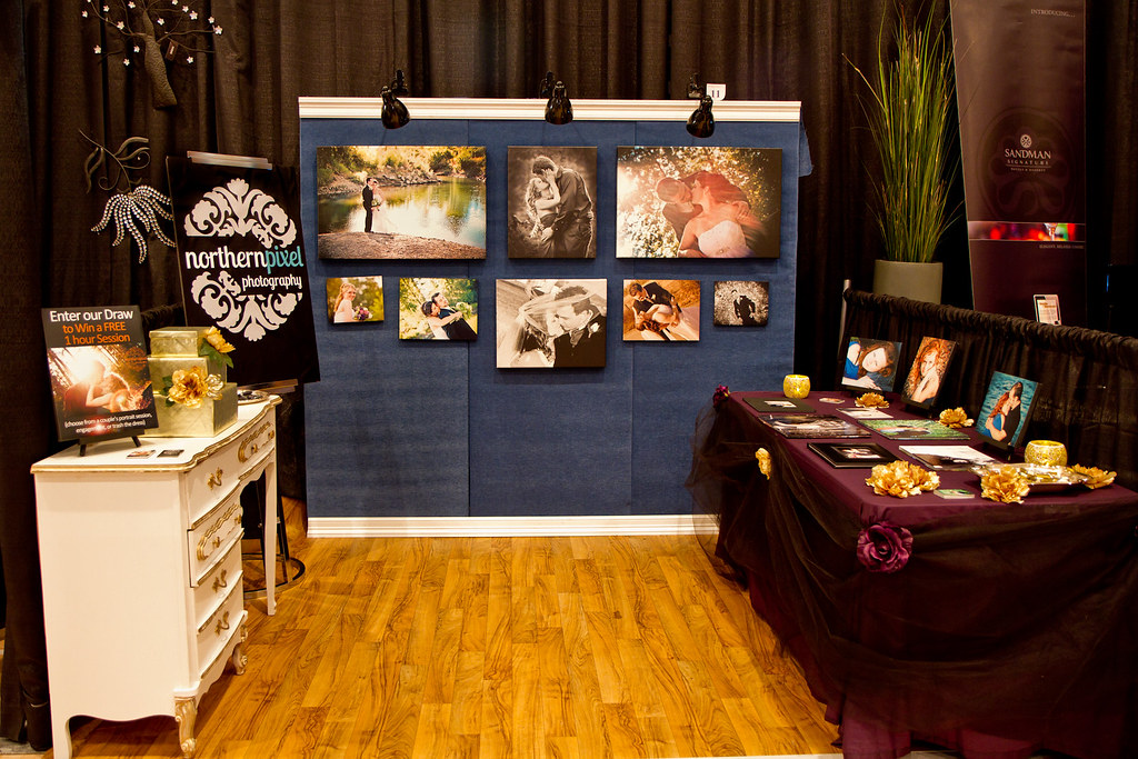 Our Bridal Expo Booth Our Northern Pixel Photography