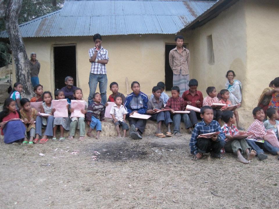 School house in bangladesh village a school house in for Bangladesh house picture