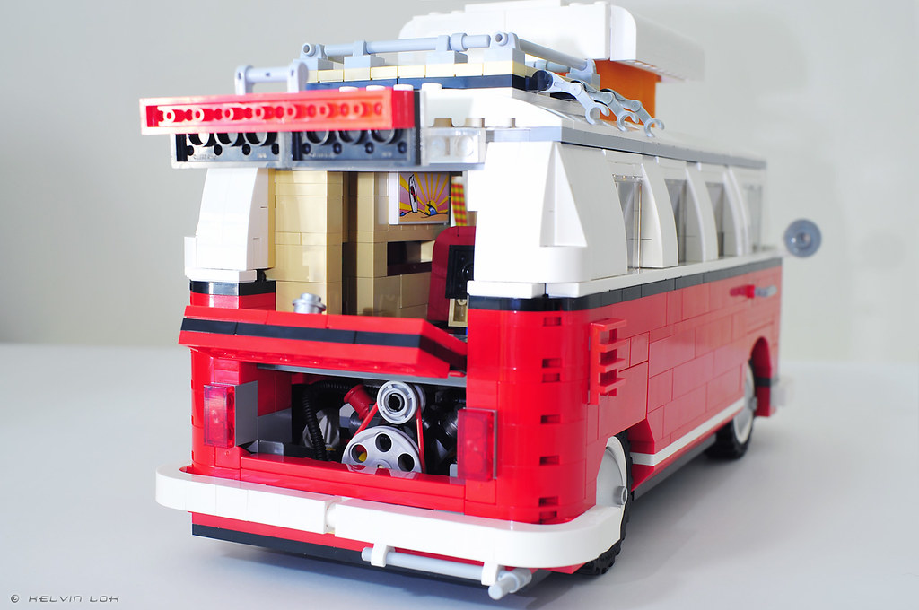 lego vw camper van build pics lego  volkswagen   flickr