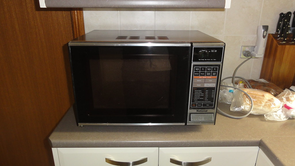 Panasonic National Microwave Oven It Is Now Replaced