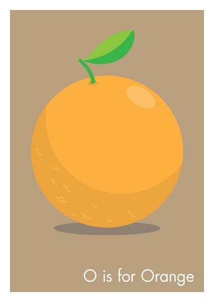 O is for Orange | Jason Jeffery