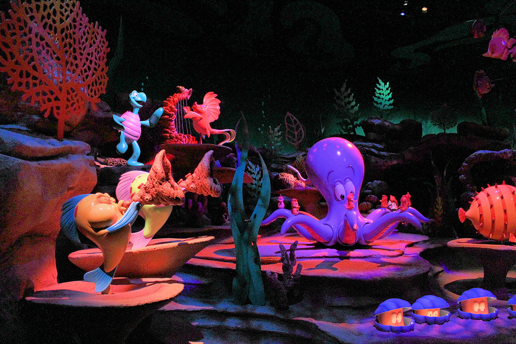 The Little Mermaid Ride Disney S California Adventure
