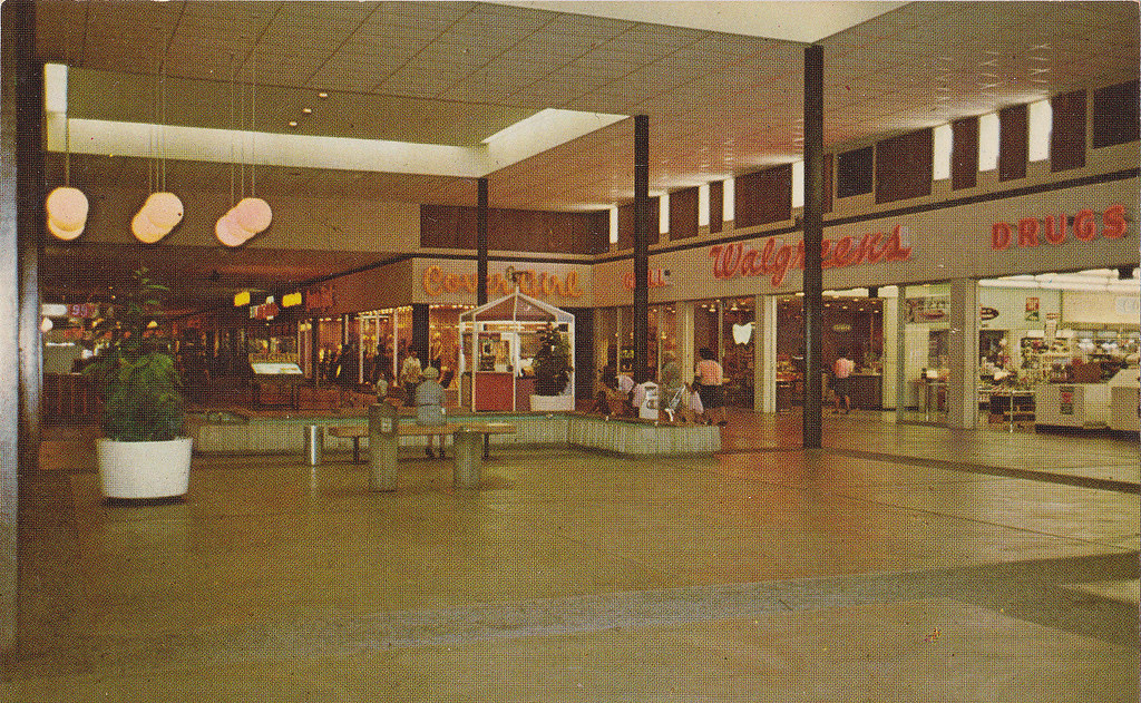Dixie Square Mall Penneys Court Postcard | I won this ...
