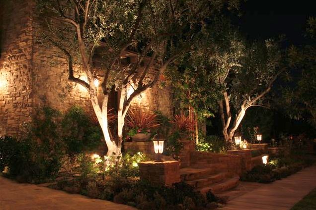 Outdoor Lighting By Robert E Taft Landscape Architecture