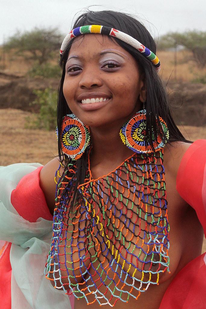 South Africa - Zulu Reed Dance Ceremony  Zulu Reed Dance -4301