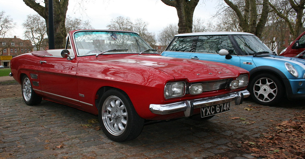 Souvent 1972 FORD CAPRI CRAYFORD CONVERTIBLE 3000GT | Decembers meet… | Flickr OD97
