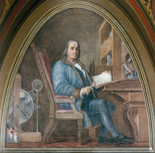 Benjamin Franklin | by USCapitol