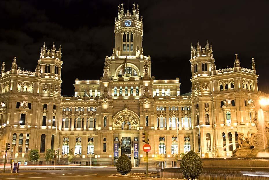 nueva sede del ayuntamiento de madrid en el edificio de co