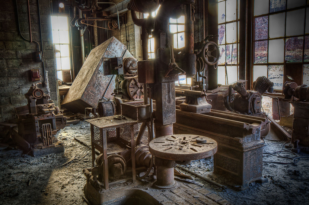 Machine Shop From Abandoned Coal Sifting Plant Me And My