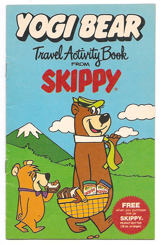 1986 Hanna-Barbera Yogi Bear Travel Activity Book Skippy Peanut Butter Premium | by gregg_koenig