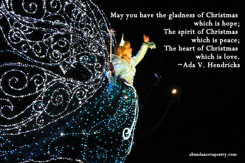 Christmas Quote Christmas Gladness May You Have The