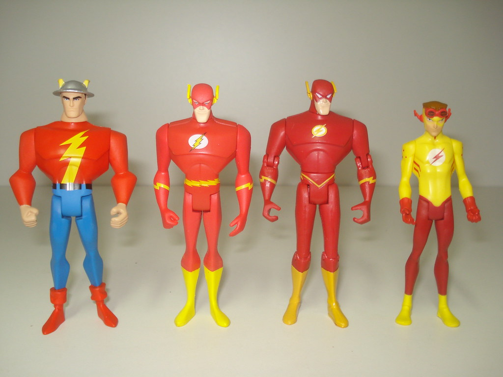 flash family from left to right jay garrick golden age
