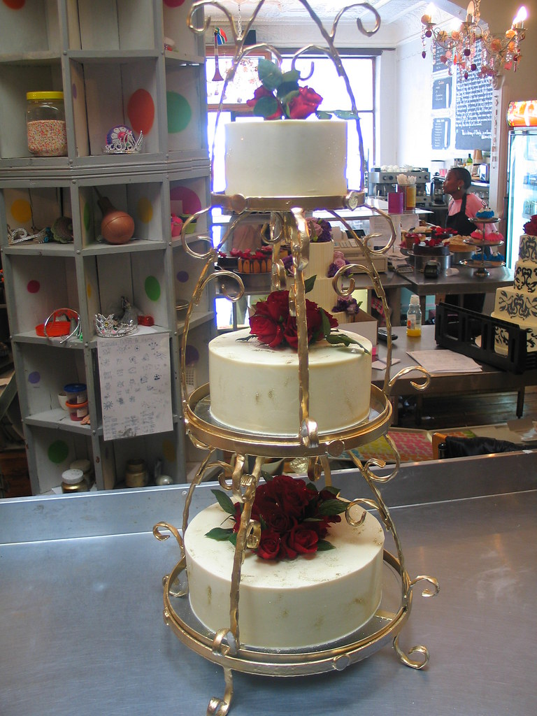 Cake Stand Decorated