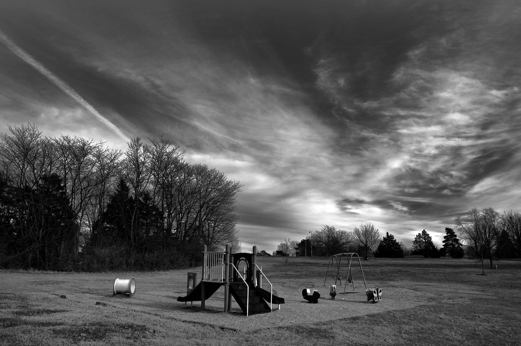 Empty Playground B&W | Eric Vondy | Flickr