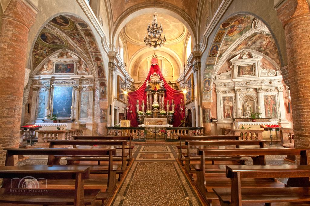 Morcote chiesa di santa maria del sasso interno flickr for Interno help