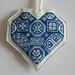 cross stitch coeur