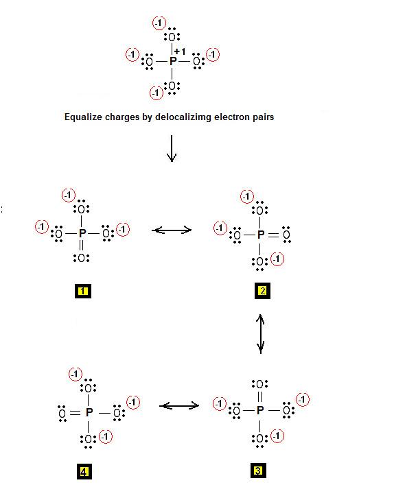 Lewis Dot Structure Phosphorus