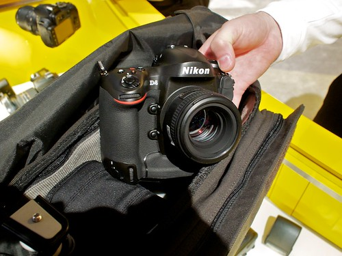 Nikon D4 in Lowepro Pro Messenger 200 | by Lowepro